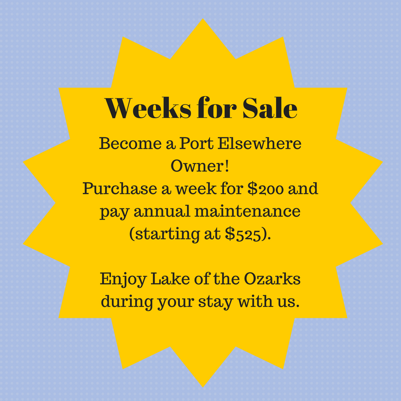 Weeks for Sale at Port Elsewhere
